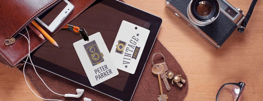 Badges entreprise PVC