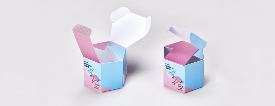 Sechseckige Schachteln