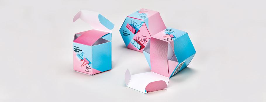 Étuis hexagonaux