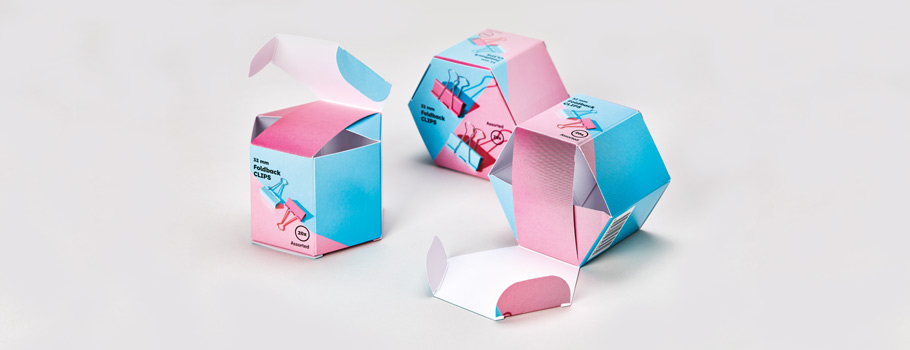 Hexagonal boxes