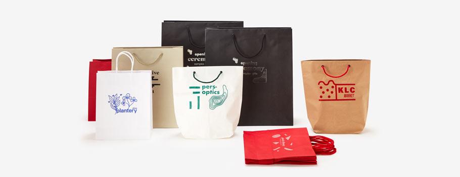 Bolsas de papel especial