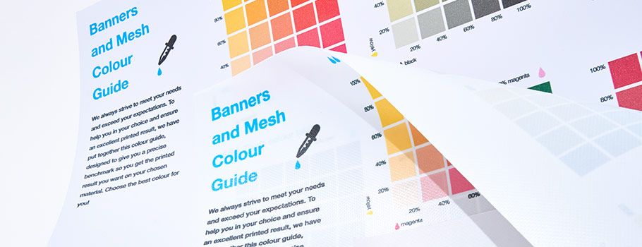 Banners and Mesh Colour Guide