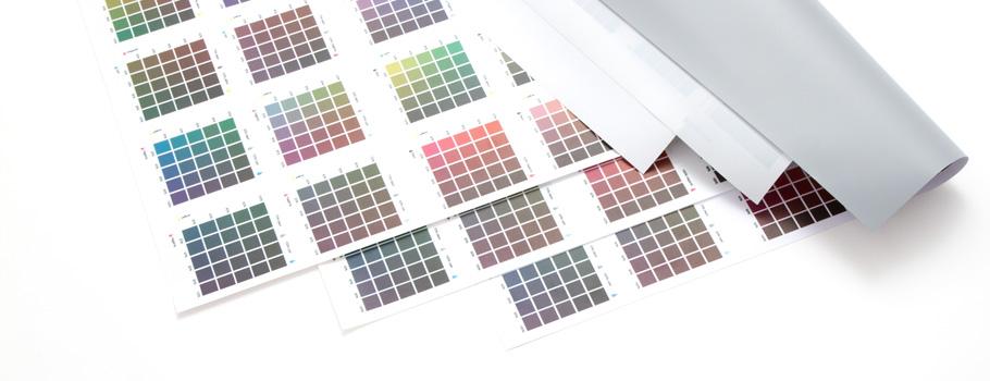 Wzornik kolorów do banerów i siatek