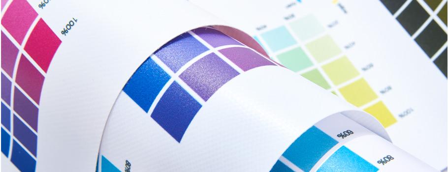 Carta de colores de Lonas y Microperforados