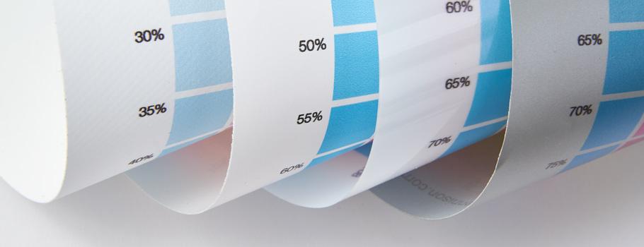 Carta de colores de Vinilos adhesivos