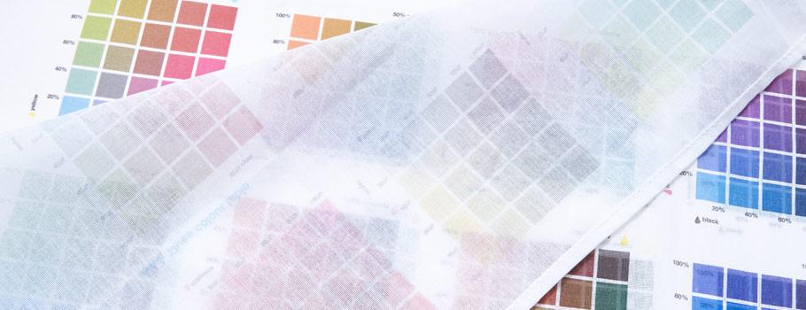 Шкала цветового охвата для тканей