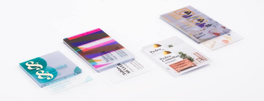 Biglietti da visita in PVC