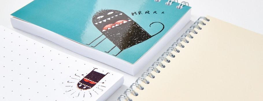Spiral-bound Notebooks