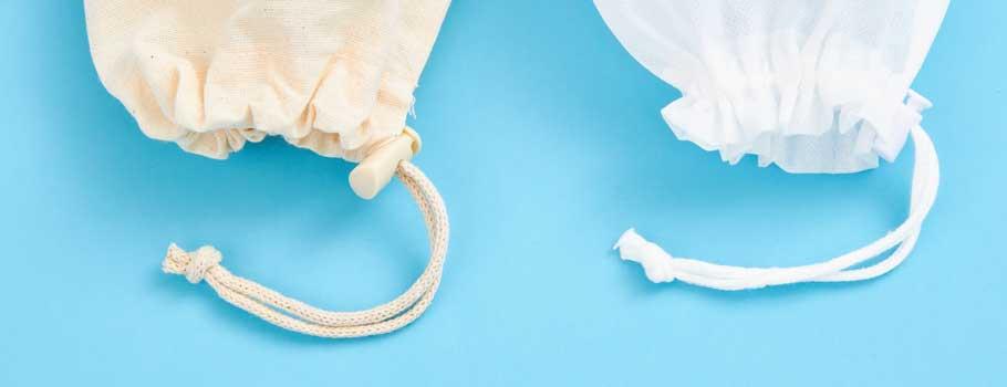Săculeţi din material textil