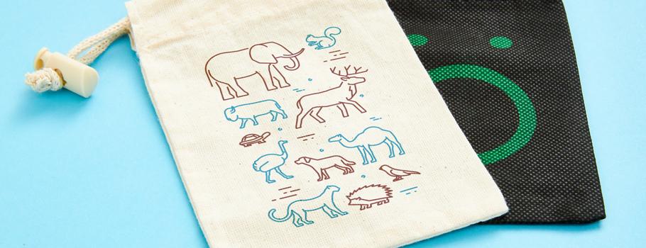 Sachets en tissu