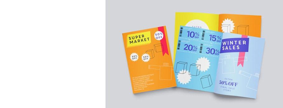 Brochure tabloïd