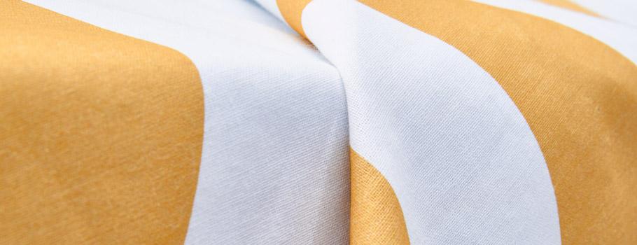Habillage de portique antivol en tissu