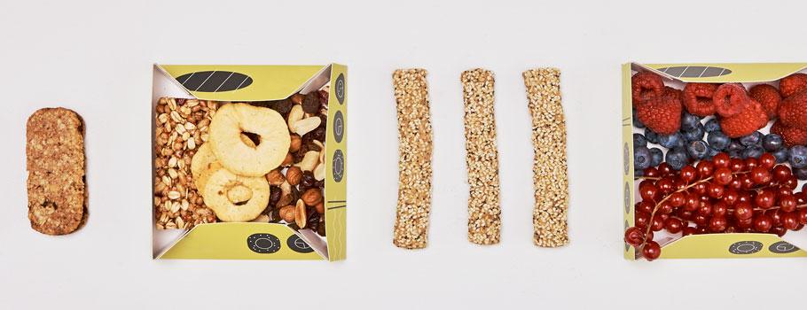 Лотки для пищевых продуктов