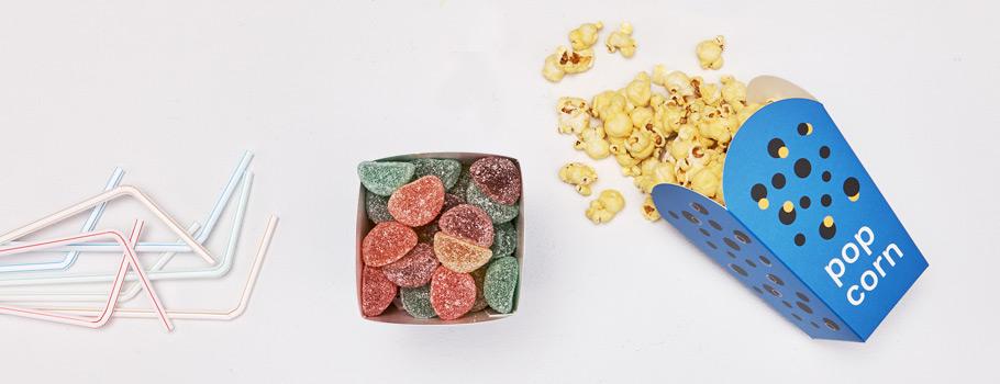 Friet- en popcorndoosjes