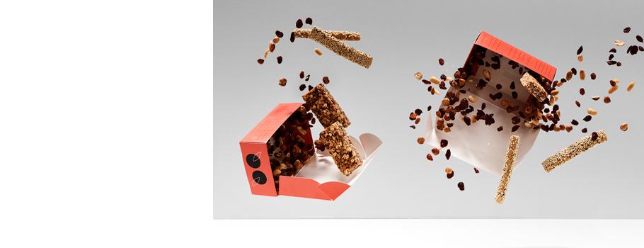 Коробки с откидной крышкой для пищевых продуктов
