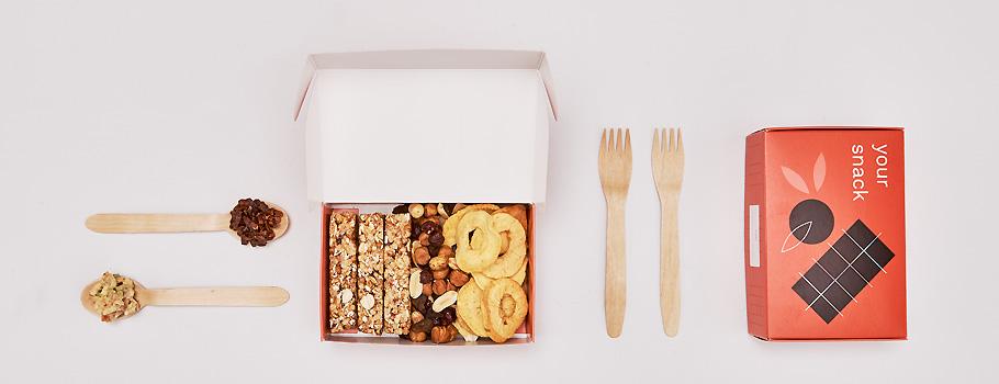 Caixas alimentares com tampa basculante