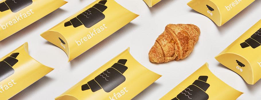 Коробки-подушки для сэндвичей