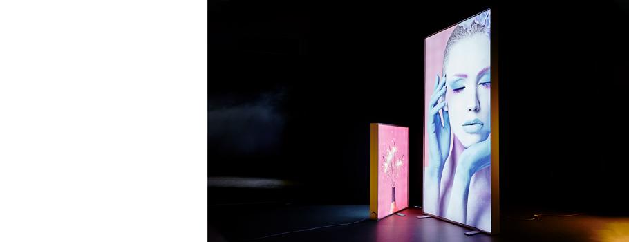 Backlit Freestanding Tension Fabric Frame