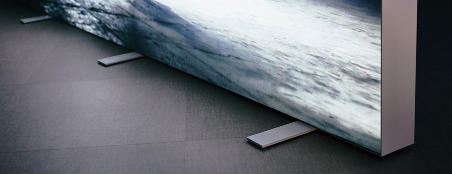 LED-Textilrahmen-Aufsteller