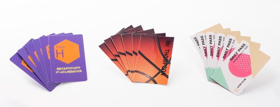 Visitenkarten mit Veredelung