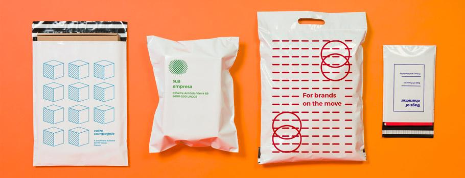 Sobres de plástico para envíos