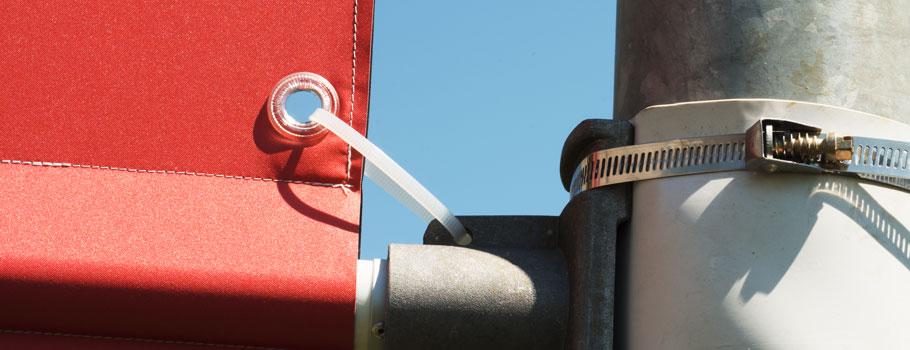 Pole Flag Display
