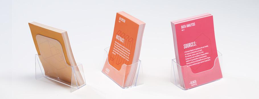 Présentoir porte-flyers
