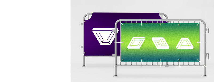 Banners for Barriers
