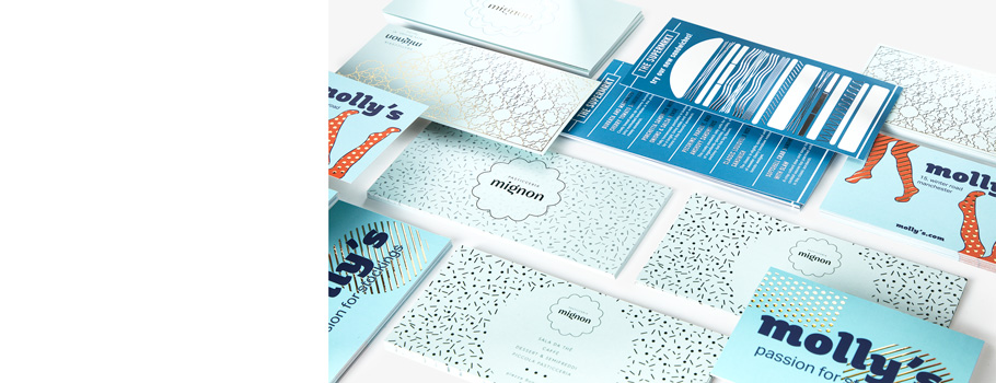 Veredelte Gruß- und Einladungskarten