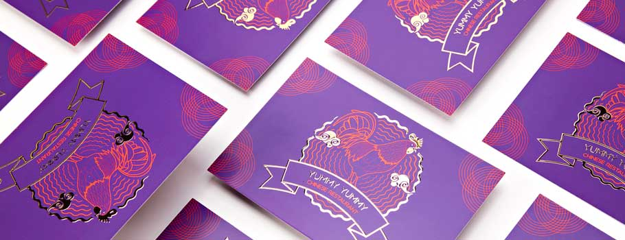 Special Finish Postcards
