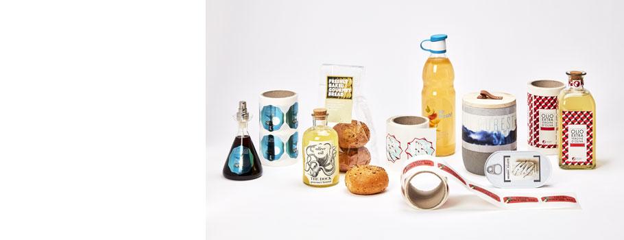 Rótulos para embalagens alimentares