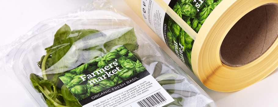 Etiketter för livsmedelsförpackningar