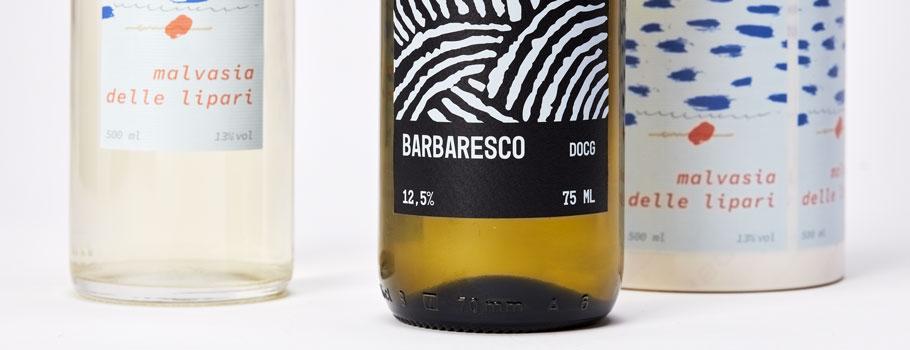 Etiketten voor wijn en likeur