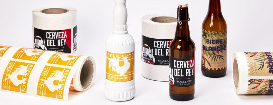 Etiketten voor bier
