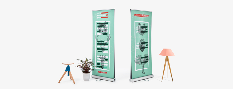 Roll-up classic de doble cara