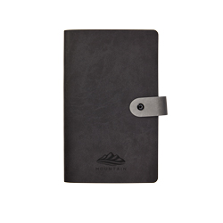 Vivella Notepad with Button Fastening