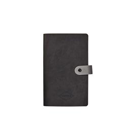 Caderno pequeno em Vivella com fecho de botão