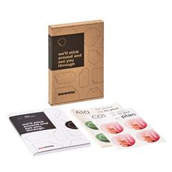 Campionario etichette e adesivi