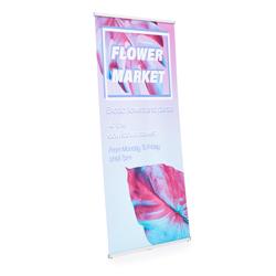 Expobanner Luxury-mono Dimensions100 x 201 cm