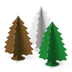 4 Weihnachtsbäume mini