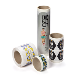 500 Roll Stickers