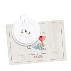 Бумажные салфетки под прибор