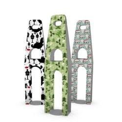 Image of Christmas bottle holders