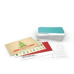 Image of Christmas postcards