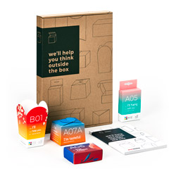 Packaging sample pack