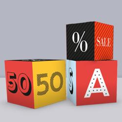 Cardboard cube