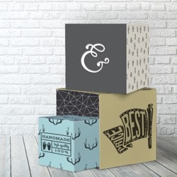 Cubo in cartone