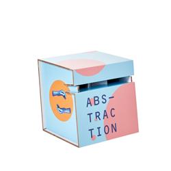 Taburete de cartón