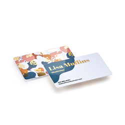 Cartões acabamentos especiais