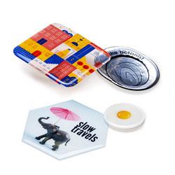 Doming-Etiketten mit Digitaldruck